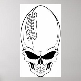 fútbol 2 del cráneo póster