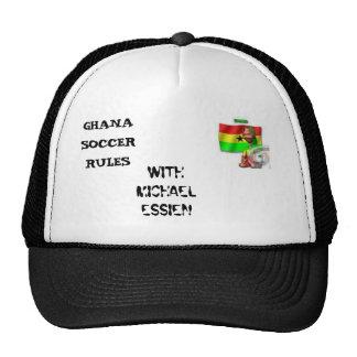Fútbol 2, REGLAS de Ghana del FÚTBOL de GHANA, CON Gorra