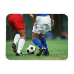 Fútbol 3 imán rectangular