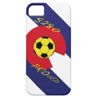 Fútbol 5280 orgulloso iPhone 5 carcasas