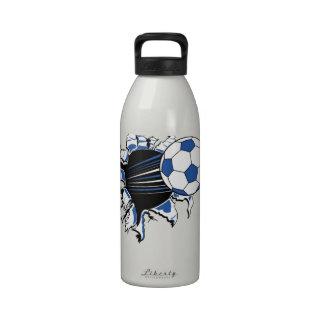 fútbol botellas de beber