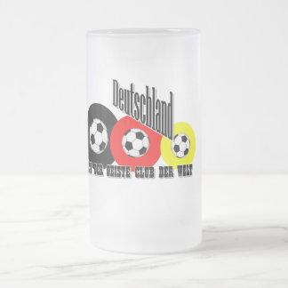 fútbol alemán taza cristal mate