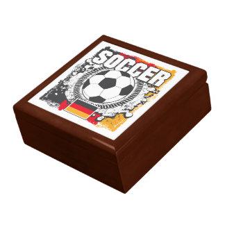 Fútbol Alemania del Grunge Caja De Recuerdo