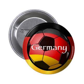 Fútbol Alemania Río el Brasil Pin Redondo 5 Cm