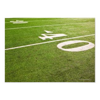 """Fútbol americano 5 invitación 5"""" x 7"""""""