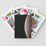 Fútbol americano barajas de cartas