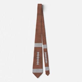 Fútbol americano corbata personalizada