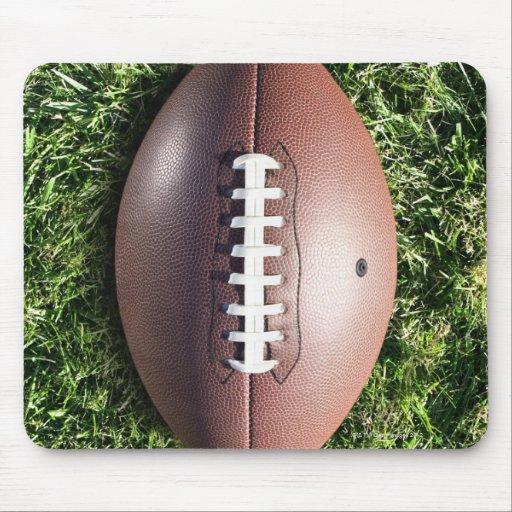 Fútbol americano en hierba alfombrilla de ratones