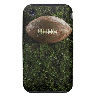 Fútbol americano en hierba, visión desde arriba carcasa though para iPhone 3