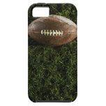 Fútbol americano en hierba, visión desde arriba funda para iPhone 5 tough