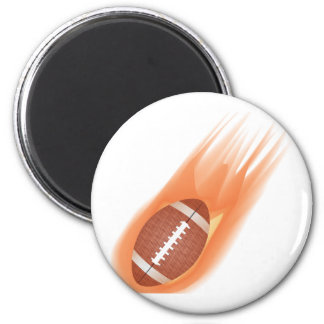 fútbol americano imán redondo 5 cm