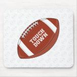 Fútbol americano Mousepad Tapetes De Raton