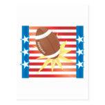 Fútbol americano postal