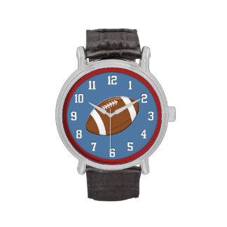 Fútbol americano relojes de mano