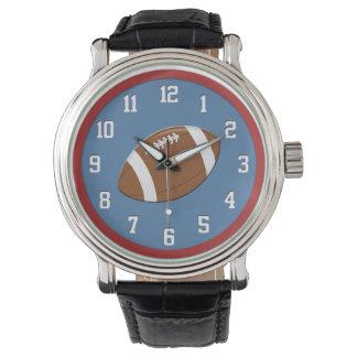 Fútbol americano relojes de pulsera