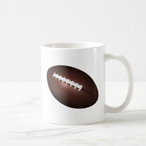 Fútbol americano taza de café