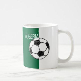 Fútbol argelino de la bandera el | taza
