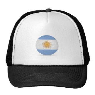 fútbol ball.jpg de la Argentina Gorra