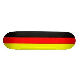 Fútbol bandera de Alemania schwarz-rot-gold Monopatin Personalizado