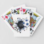 fútbol baraja de cartas