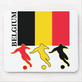 Fútbol Bélgica Mousepad