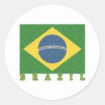 Fútbol brasileño 2010 etiqueta
