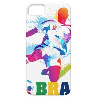 Fútbol brasileño iPhone 5 Case-Mate protectores