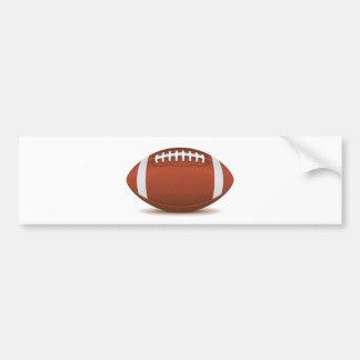 fútbol etiqueta de parachoque