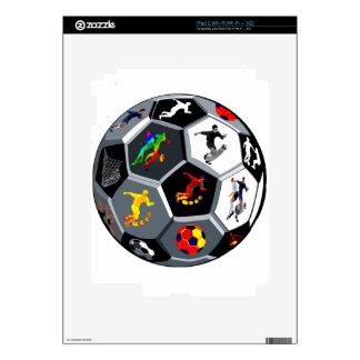 Fútbol Calcomanía Para iPad 2