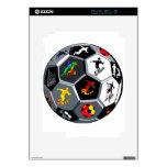 Fútbol Calcomanías Para iPad 2