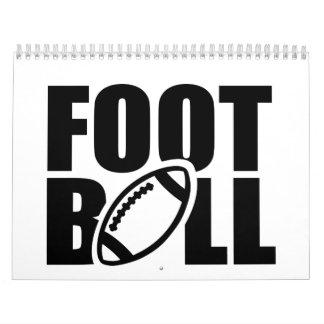 Fútbol Calendarios De Pared