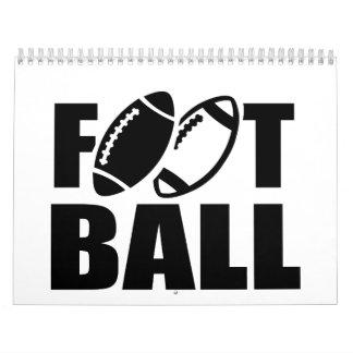 Fútbol Calendario De Pared