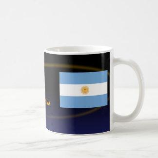 Fútbol caliente de la Argentina Tazas
