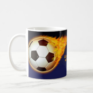 Fútbol caliente de los E E U U Taza