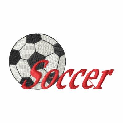 Fútbol Sudadera Bordada Con Capucha