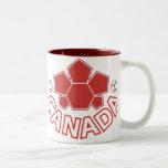 Fútbol Canadá Taza De Café