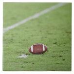 Fútbol cerca de la línea de las yardas azulejo cuadrado grande