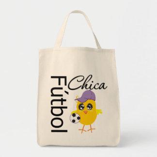 Fútbol Chica Bolsa Tela Para La Compra