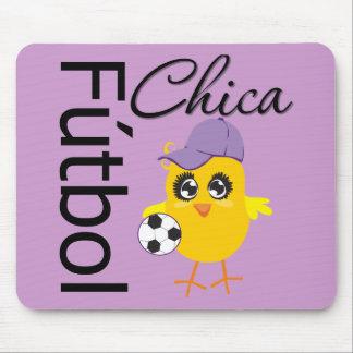 Fútbol Chica Alfombrillas De Ratones