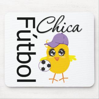 Fútbol Chica Tapete De Ratones