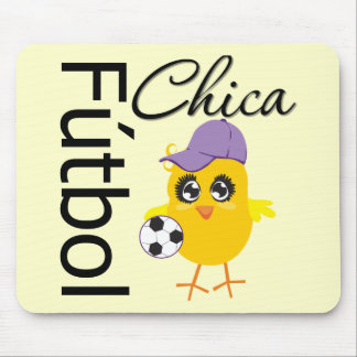 Fútbol Chica Mousepad