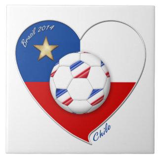 "Fútbol ""CHILE"" 2014. Chilean national soccer team Teja"