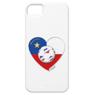 "Fútbol ""CHILE"" 2014. Chilean national soccer team Funda Para iPhone SE/5/5s"