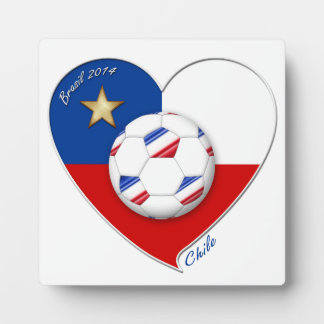"Fútbol ""CHILE"" 2014. Chilean national soccer team Placa"