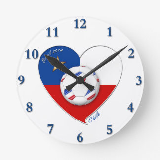 "Fútbol ""CHILE"" 2014. Chilean national soccer team Reloj"