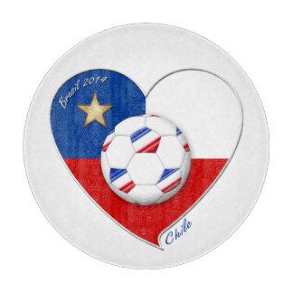 "Fútbol ""CHILE"" 2014. Chilean national soccer team Tabla De Cortar"