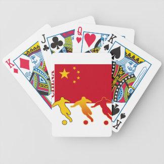 Fútbol China Barajas De Cartas
