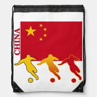 Fútbol China Mochila