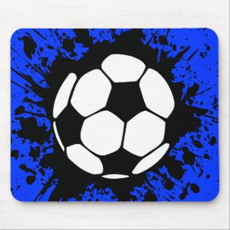 fútbol: círculos: alfombrilla de raton