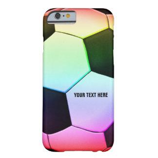 Fútbol colorido del fútbol el de Personalizable